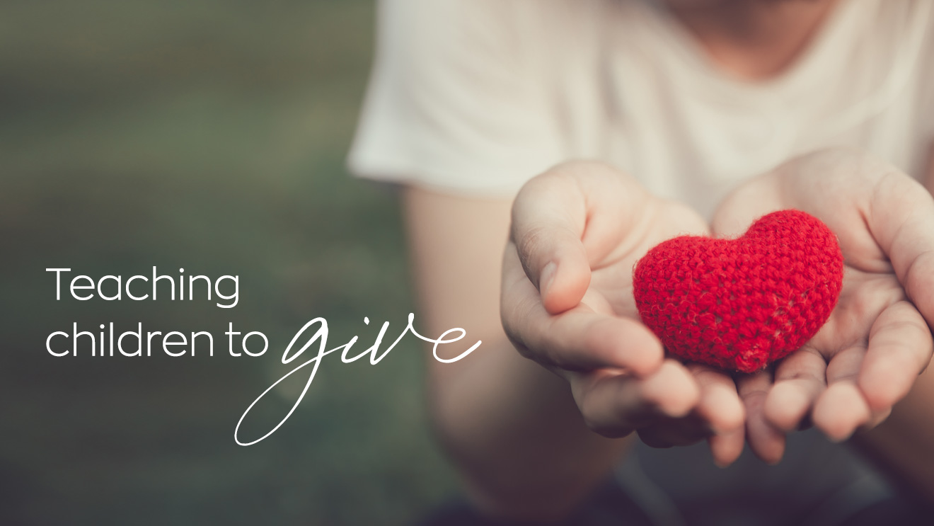 Charity begins at home: Teaching children to give